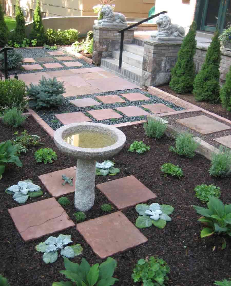 Modern english garden design portfolio of stonegate for Gardens with rocks and stones